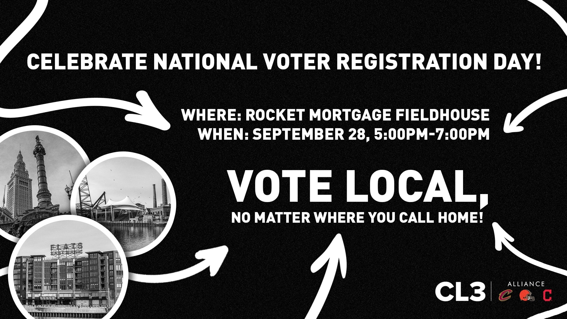 Vote Local at Rocket Mortgage FieldHouse